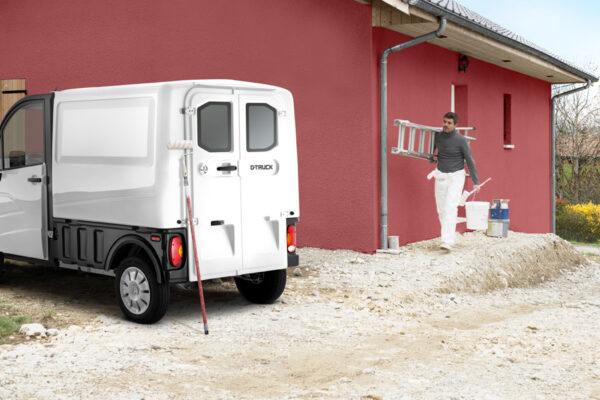 Utilitaire sans permis d'occasion Aixam - DTruck - Monkey Car